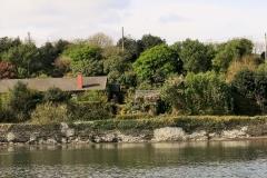 Cottage vom Wasser aus